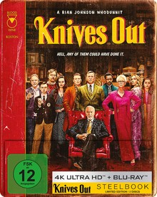 Knives Out - Limited Steelbook Edition (2 Disc Set)