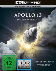 Apollo 13 - 25th Anniversary Limited Steelbook Edition (2 Disc Set)