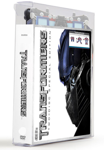 Transformers - Optimus Prime Package (2 Disc Set)