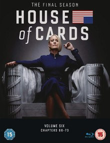 House Of Cards - The Final Season - Volume Six: Chapters 66 - 73 (3DiscSet)