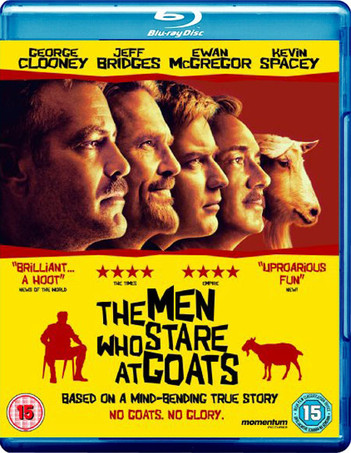 The Men Who Stare At Goats - Limited Edition with Free Book