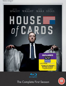 House Of Cards - The Complete First Season - Volume One: Chapters 1 - 13 (4 Disc Set)