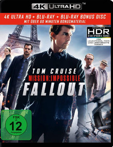 Mission: Impossible - Fallout (3 Disc Set)