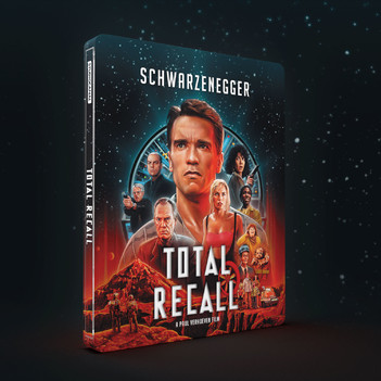 Total Recall - Limited Steelbook Edition (3 Disc Set)