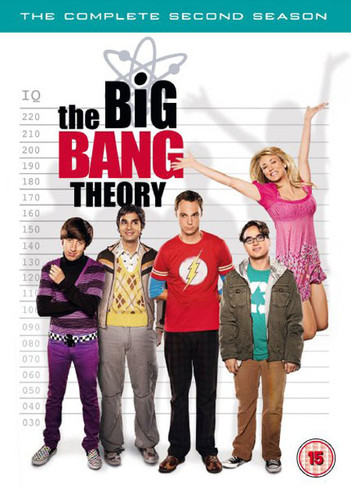 The Big Bang Theory - The Complete Second Season (4 Disc Set)