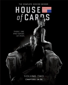 House Of Cards - The Complete Second Season - Volume Two: Chapters 14 - 26 (4 Disc Set)