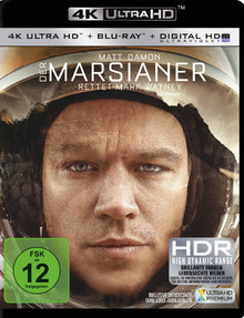 Der Marsianer (2 Disc Set)