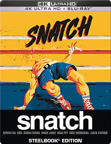 Snatch - Limited Steelbook Edition (2DiscSet)