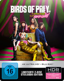 Birds Of Prey: The Emancipation Of Harley Quinn - Limited Steelbook Edition (2DiscSet)