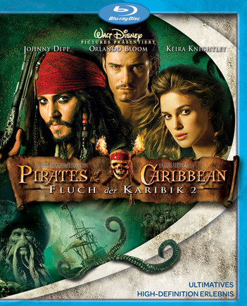 Pirates Of The Caribbean - Fluch der Karibik 2 (2 Disc Set)