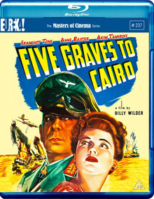 Five Graves To Cairo - The Masters Of Cinema Series #237