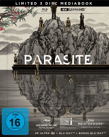 Parasite (기생충) - Limited Mediabook (3 Disc Set)