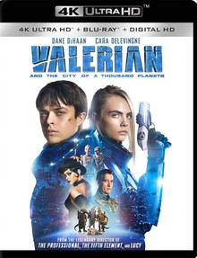 Valerian And The City Of A Thousand Planets (2 Disc Set)
