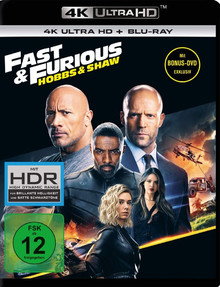 Fast & Furious: Hobbs & Shaw (3DiscSet)
