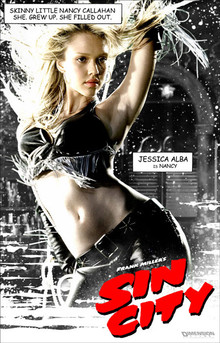 Frank Miller's Sin City (with Jessica Alba Notebook)