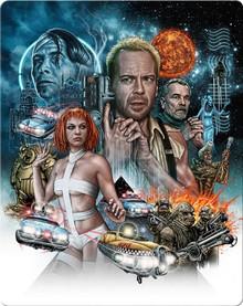 The Fifth Element - Zavvi Exclusive Steelbook (2 Disc Set)