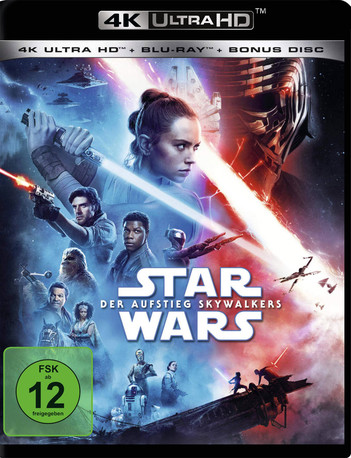 Star Wars: Episode IX - Der Aufstieg Skywalkers (3 Disc Set)