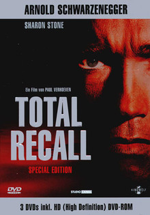 Total Recall - Special Edition (2DiscSet + WMVHD DVD-Rom)