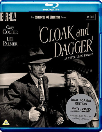 Cloak And Dagger - The Masters Of Cinema Series #205 (2 Disc Set)