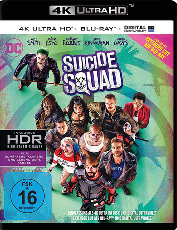 Suicide Squad (2 Disc Set)
