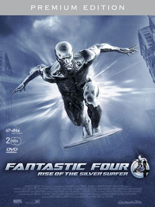 Fantastic Four: Rise Of The Silver Surfer - Limitierte Silver Surfer Edition (2 Disc Set)