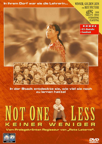 Not One Less - Keiner weniger (一个都不能少)