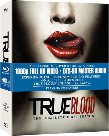 True Blood - The Complete First Season (5 Disc Set)