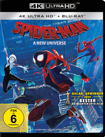 Spider-Man: A New Universe (2 Disc Set)