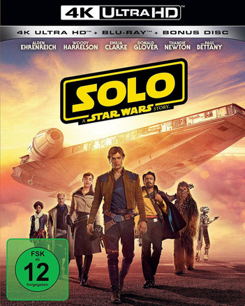 Solo: A Star Wars Story (3 Disc Set)
