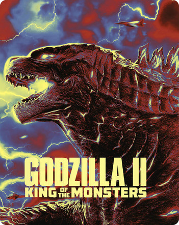 Godzilla II: King Of The Monsters - Limited Steelbook Edition (2 Disc Set)