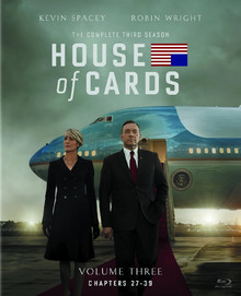 House Of Cards - The Complete Third Season - Volume Three: Chapters 27 - 39 (4 Disc Set)
