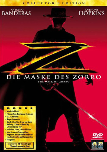 Die Maske des Zorro - Collector's Edition