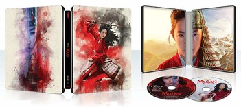 Mulan - Limited Steelbook Edition (2 Disc Set)