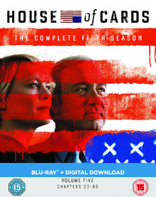 House Of Cards - The Complete Fifth Season - Volume Five: Chapters 53 - 65 (4 Disc Set)
