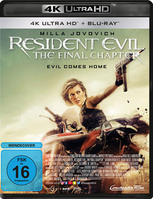 Resident Evil: The Final Chapter (2DiscSet)