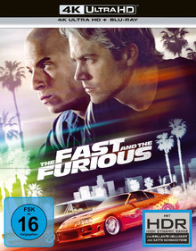 The Fast and the Furious - 20th Anniversary Limited Edition Gift Set (2DiscSet)