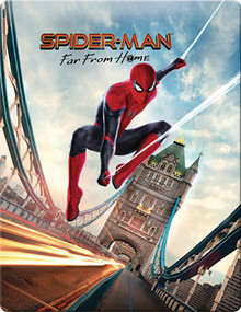 Spider-Man: Far From Home - Zavvi Exclusive Steelbook (3DiscSet)