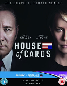 House Of Cards - The Complete Fourth Season - Volume Four: Chapters 40 - 52 (4 Disc Set)
