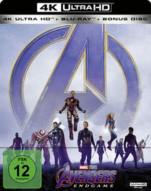 Avengers: Endgame - Limited Edition (3 Disc Set)