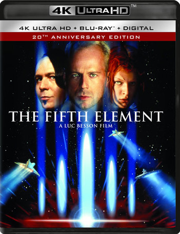 The Fifth Element - 20th Anniversary Edition (2 Disc Set)