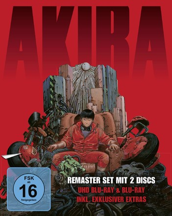 Akira (アキラ) - Limited Edition (2 Disc Set)