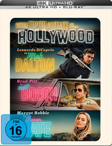 Once Upon A Time... In Hollywood - Limited Steelbook Edition (2DiscSet)